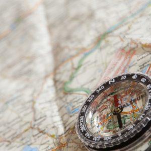 compass, map, navigation